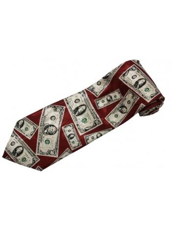 USA MONEY US DOLLARS TIE NOVELTLY NECKTIE #02