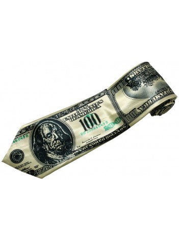 USA MONEY US DOLLARS TIE NOVELTLY NECKTIE #03