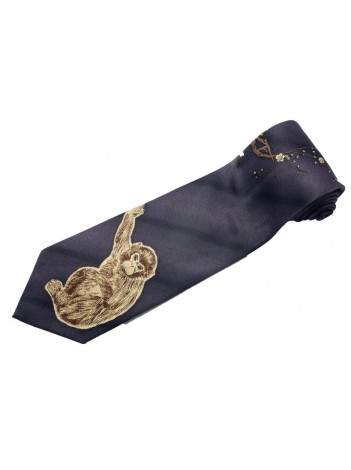 MONKEY ANIMAL TIE NOVELTY NECKTIE #03