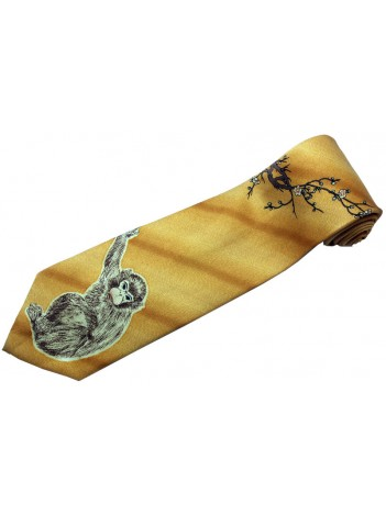MONKEY ANIMAL TIE NOVELTY NECKTIE #06