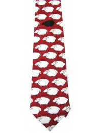 SHEEP ANIMAL TIE NOVELTY NECKTIE #01