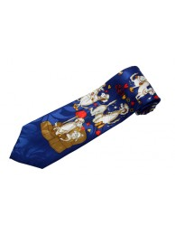 SHEEP ANIMAL TIE NOVELTY NECKTIE #05