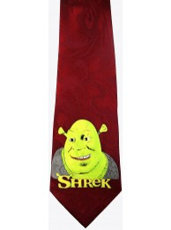 SHREK CARTOON TIE NOVELTY NECKTIE #01