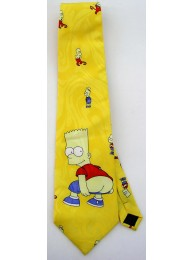 THE SIMPSON FANCY CARTOON TIE NOVELTY NECKTIE #01