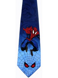 SPIDERMAN TIE HERO NOVELTY NECKTIE 01