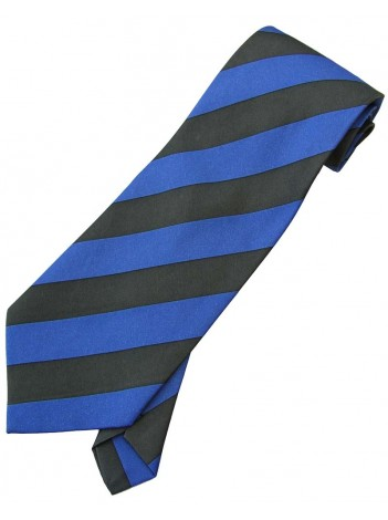 STRIPES TIE BLUE / GRAY NOVELTY NECKTIE #06