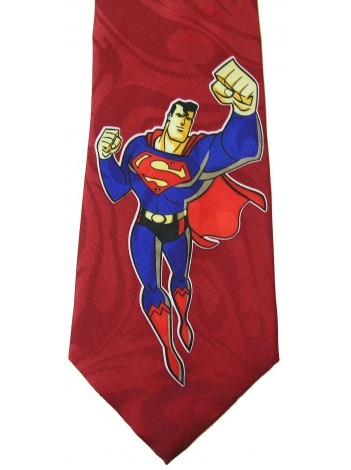 SUPERMAN (RED) TIE NECKTIE
