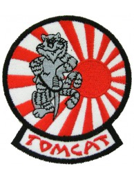 USN F14 GRUMMAN TOMCAT EMBROIDERED PATCH