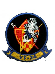 USN TOMCAT FIGHTING SQN VF-24 BOMBCAT PATCH