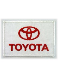 TOYOTA  AUTO LOGO IRON ON EMBROIDERED PATCH #03