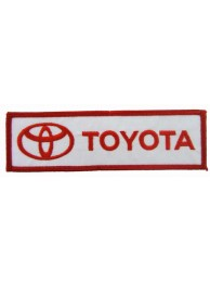 TOYOTA  AUTO LOGO IRON ON EMBROIDERED PATCH #04