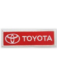 TOYOTA  AUTO LOGO IRON ON EMBROIDERED PATCH #05