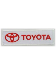 TOYOTA  AUTO LOGO IRON ON EMBROIDERED PATCH #06