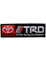 TOYOTA  AUTO TRD RACING DEVELOPMENT EMBROIDERED PATCH