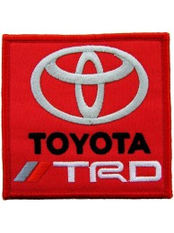 TOYOTA TRD F1 RACING EMBROIDERED PATCH