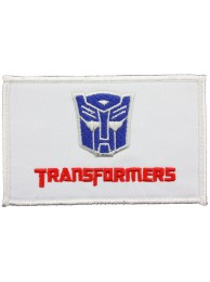 TRANSFORMERS COMIC EMBROIDERED PATCH #01