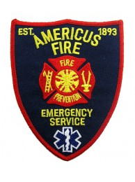 USA AERICUS FIREMAN TROOP PATCH