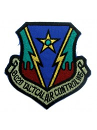 USAF 602d TACTICAL AIR CONTROL WING PATCH #02