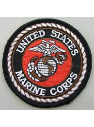 USMC US MARINE CORP EMBROIDERED PATCH