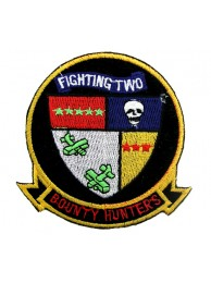 US NAVY FIGHTER SQN VF2 BOUNTY HUNTERS PATCH #01