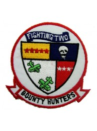 US NAVY FIGHTER SQN VF2 BOUNTY HUNTERS PATCH #02