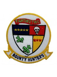US NAVY FIGHTER SQN VF2 BOUNTY HUNTERS PATCH #03