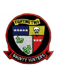 US NAVY FIGHTER SQN VF2 BOUNTY HUNTERS PATCH #04