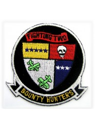 US NAVY FIGHTER SQN VF2 BOUNTY HUNTERS PATCH #05