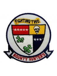 US NAVY FIGHTER SQN VF2 BOUNTY HUNTERS PATCH #06