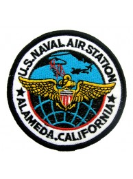 USN US NAVY AIR STATION PATCH