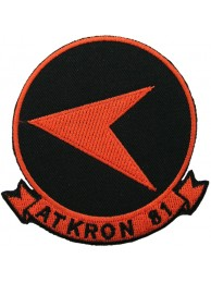 USN ATTACK SQUADRON 81 US NAVY VA-81 PATCH