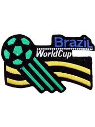WORLD CUP - BRAZIL FOOTBALL SOCCER PATCH