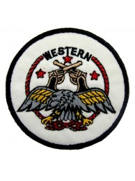 WESTERN PUNK & ROCK EMBROIDERED PATCH