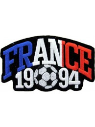 WORLD CUP - FRANCE 1994  FOOTBALL SOCCER PATCH