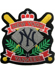 MLB BASEBALL NEW YORK YANKEES EMBROIDERED #17